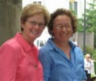 photo of Jane McAuliffe and Nell Anderson