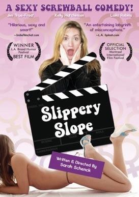 "movie poster for ""Slippery Slope"""