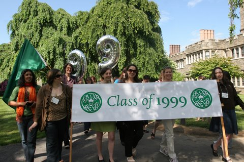 photo of alumnae/i parade