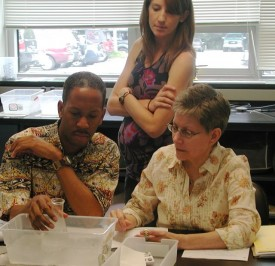 photo of participants in k-12 science-teaching program