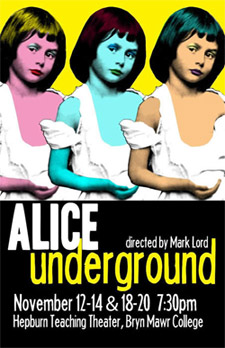 """Alice Underground"" poster"