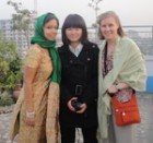 Bryn Mawr Students in Chittagong