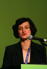 photo of Zvezdelina Stankova by Laura McHugh (for the Mathematical Association of America)