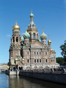 Photo of St. Petersburg church