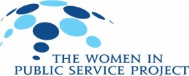 Women in Public Service Logo