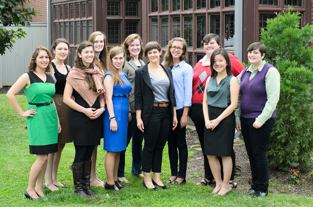 Photo of some of the Gray Fellows