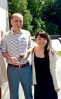 Eri Arai '16 with Kenichiro Sasae, Japanese Ambassador to the United States