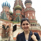 Gizem Aydin '14 interned at the Turkish Embassy in Moscow.