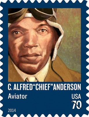 Chief Anderson Stamp