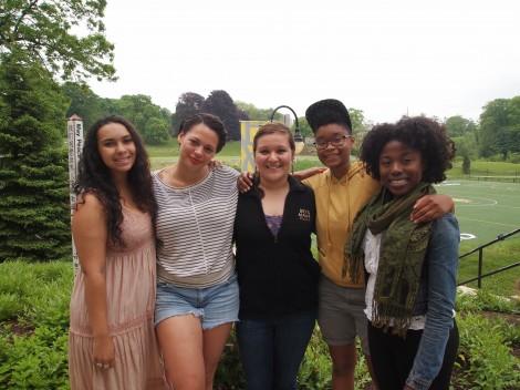 Rachel Weissler, Maria Morrero, Lucy Carreno-Roca, Rochelle Waite and Kat Abraham
